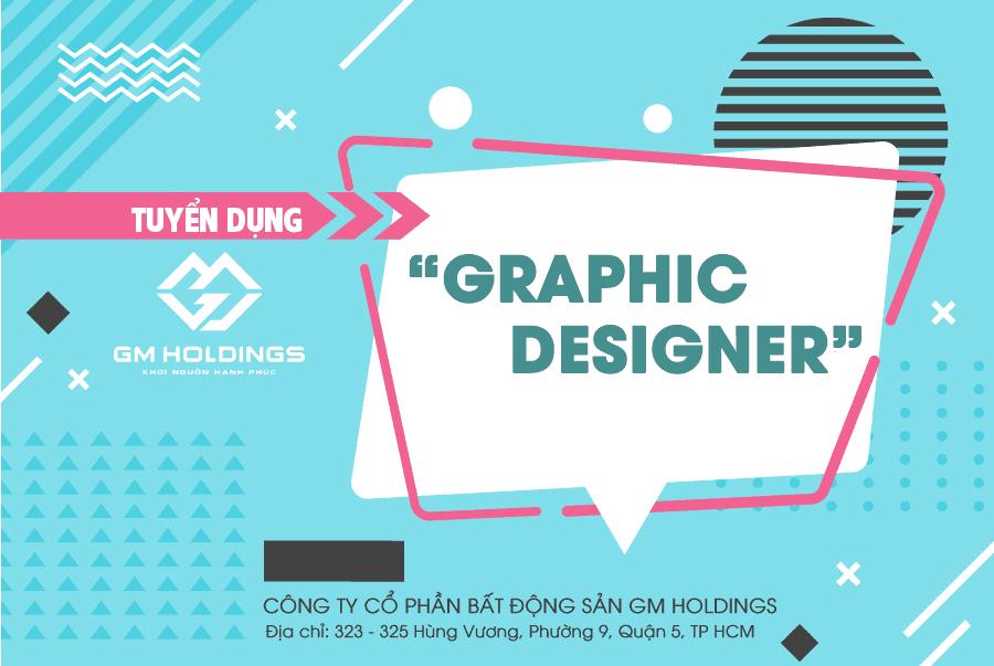 Tuyển 01 Graphic Designer lương 12.000.000