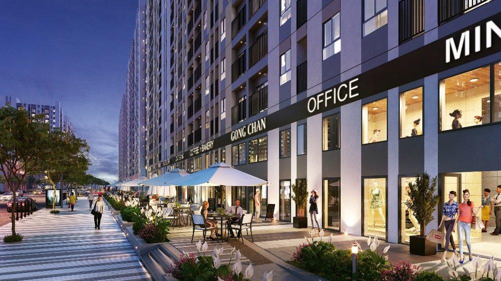 Tiềm năng đầu tư shophouse – căn hộ tầng trệt sở hữu lâu dài tại Picity High Park