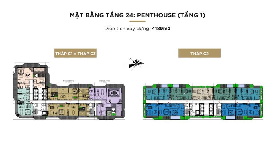 Mat bang tang 24 penthouse
