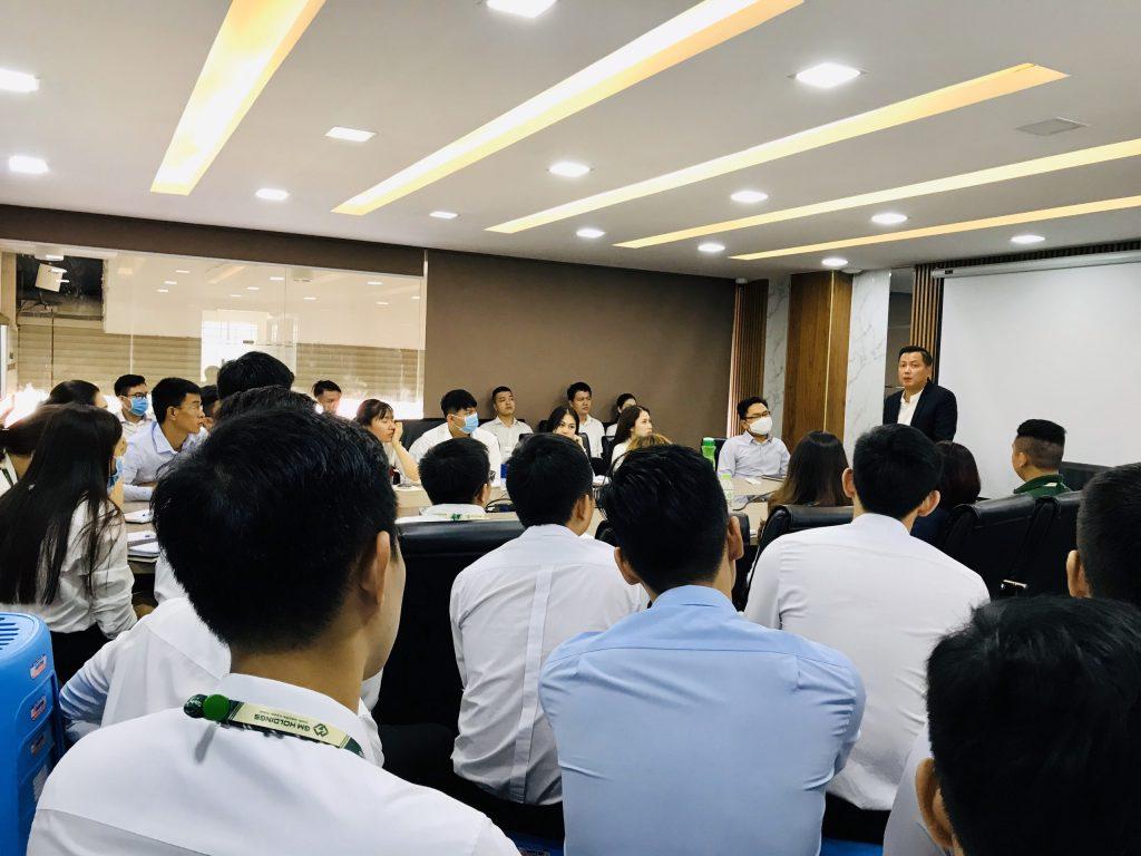 Chuỗi đào tạo nội bộ ĐỢT 1 năm 2020 dành cho Nhân viên kinh doanh – GM HOLDINGS