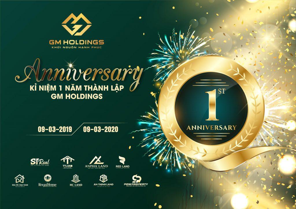 GM Holdings kỷ niệm 1 năm thành lập và phát triển