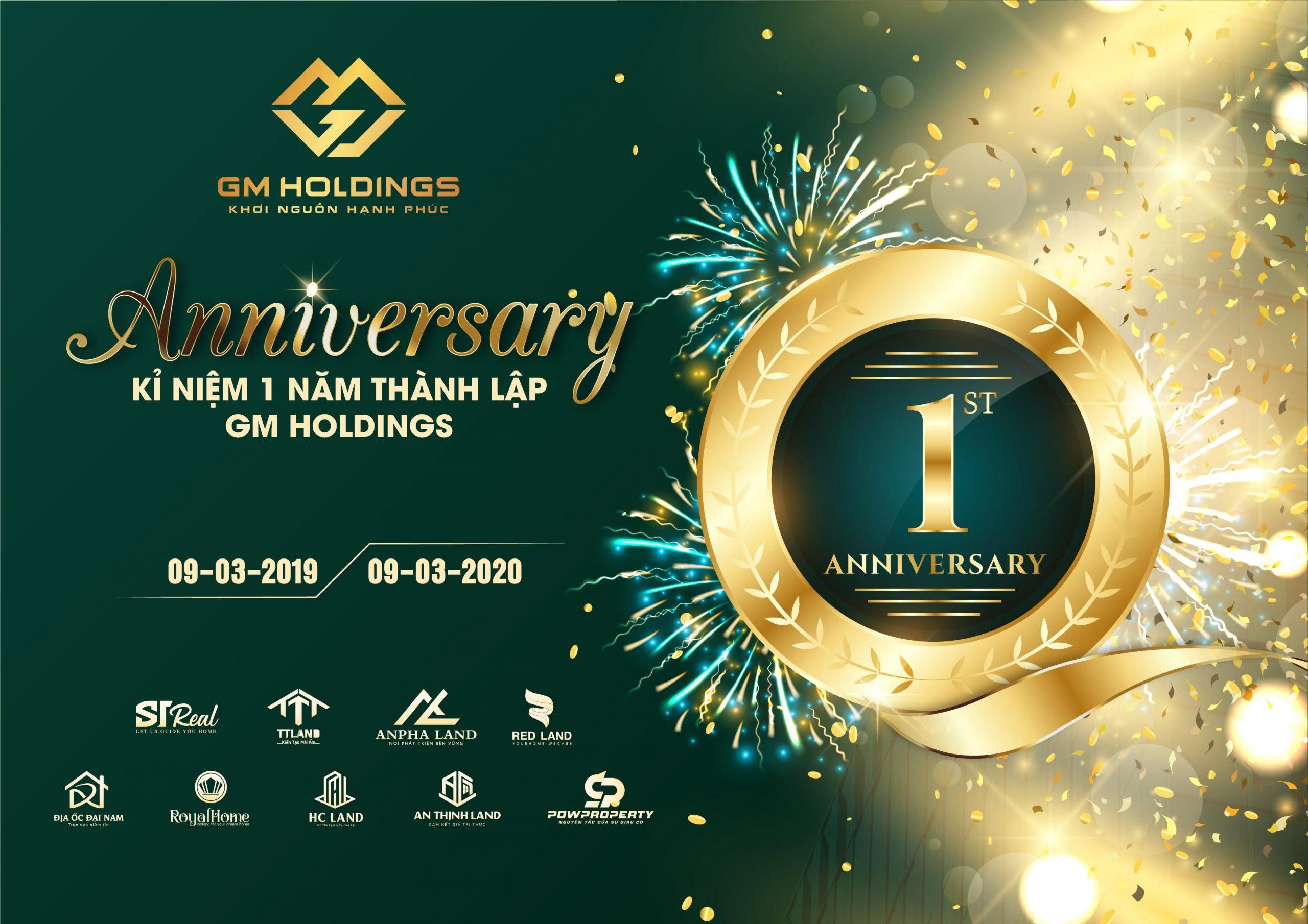 SINH NHẬT GM HOLDINGS