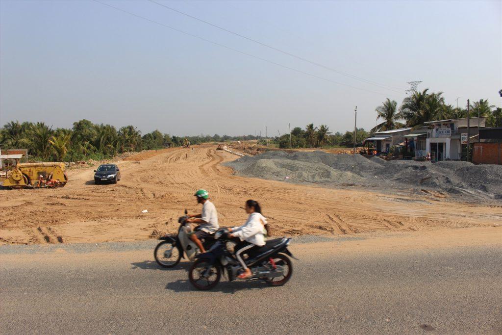 Cao tốc Trung Lương – Mỹ Thuận đã kết nối vào Quốc lộ 30