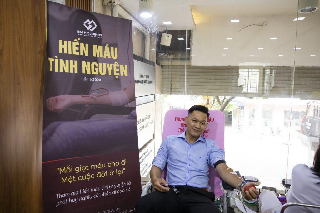 GM Holdings tổ chức Hiến máu tình nguyện lần I/2020