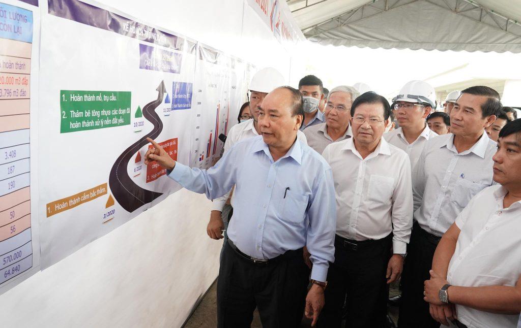 Cao tốc Trung Lương – Mỹ Thuận: Thủ tướng chỉ đạo tỉnh Tiền Giang bố trí phần vốn còn lại