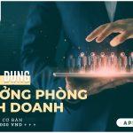 TRƯỞNG PHÒNG KINH DOANH - GM HOLDINGS