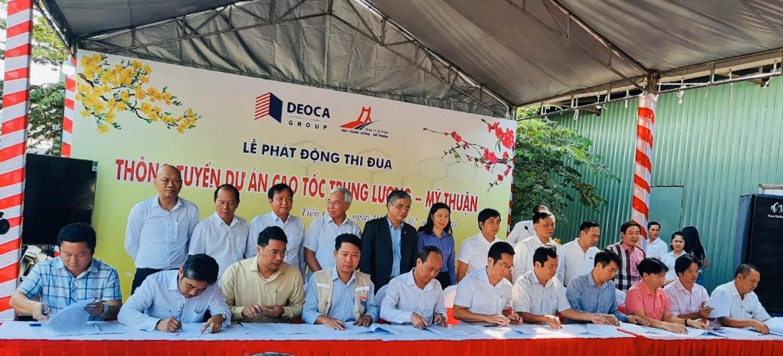 Phát động thi đua thông tuyến cao tốc Trung Lương - Mỹ Thuận vào cuối năm 2020