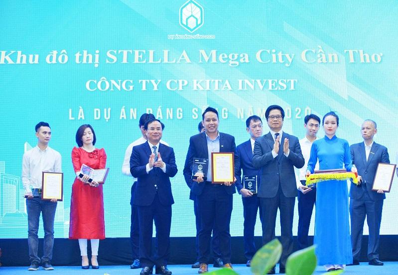 Stella Mega City Cần Thơ được vinh danh Dự án đáng sống 2020