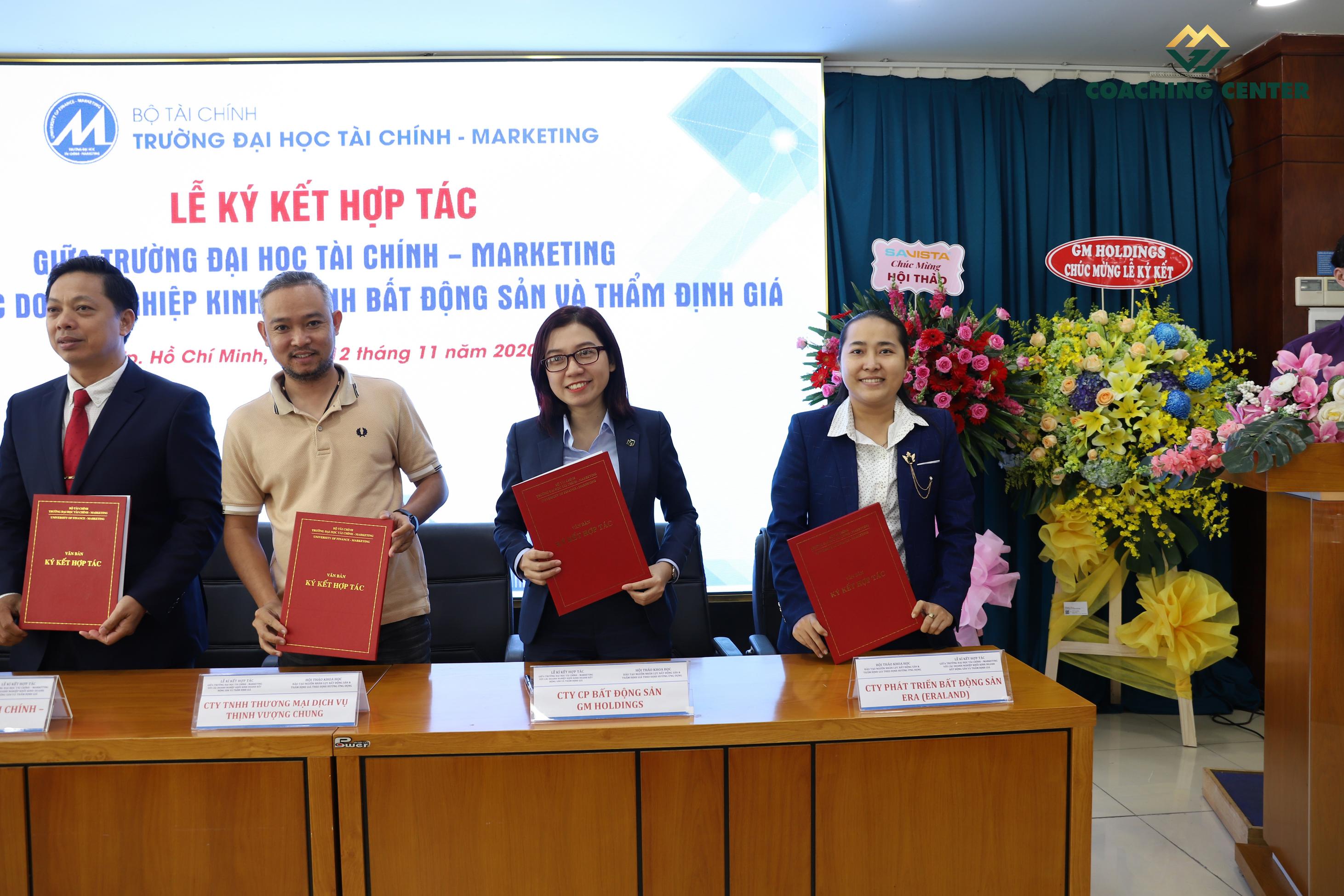GM Holdings ký kết hợp tác đào tạo với ĐH Kinh Tế TP.HCM, ĐH Tài Chính – Marketing - 8