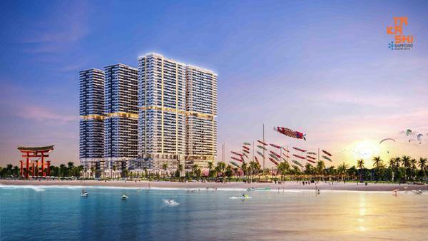 Takashi Ocean Suite Kỳ Co – dự án đô thị biển tỷ USD đậm 'chất' Nhật