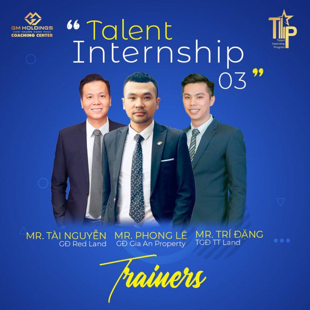 TALENT INTERNSHIP 03 – TRAINERS KỸ NĂNG TÌM KIẾM KHÁCH HÀNG